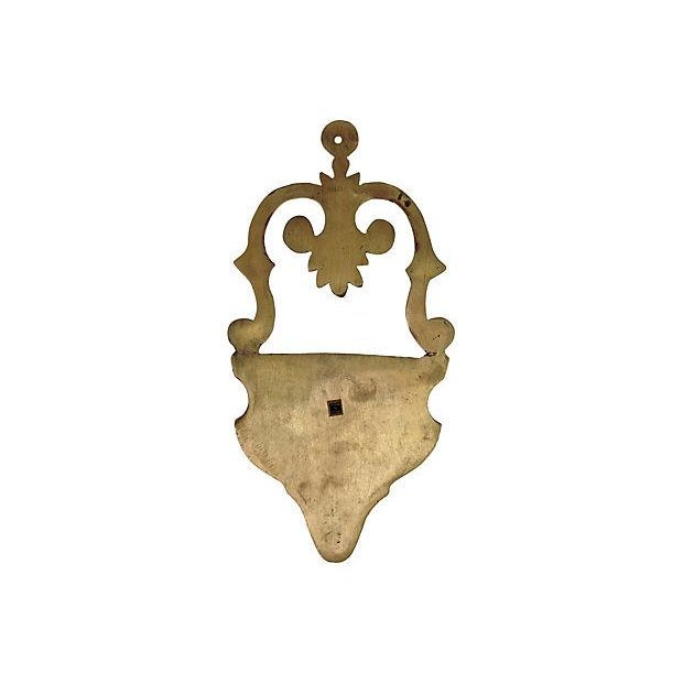 Image of Brass Wall Pocket