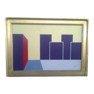 Original Abstract by Listed Arizona Artist Rick Orr