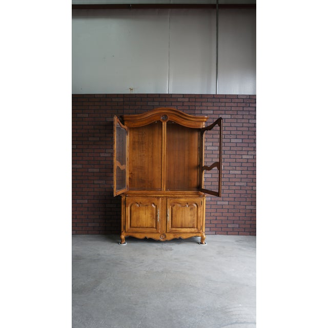 Ethan Allen French Country China Cabinet Chairish