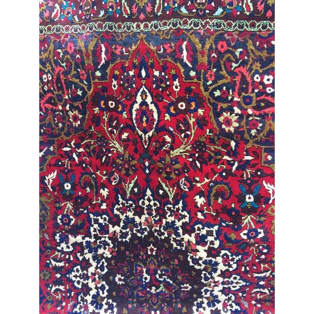 "Vintage Persian Rug 6'11"" X 7'11"" - Image 3 of 7"