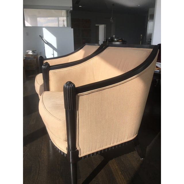 Art Deco Style Lounge Chairs - A Pair - Image 3 of 11
