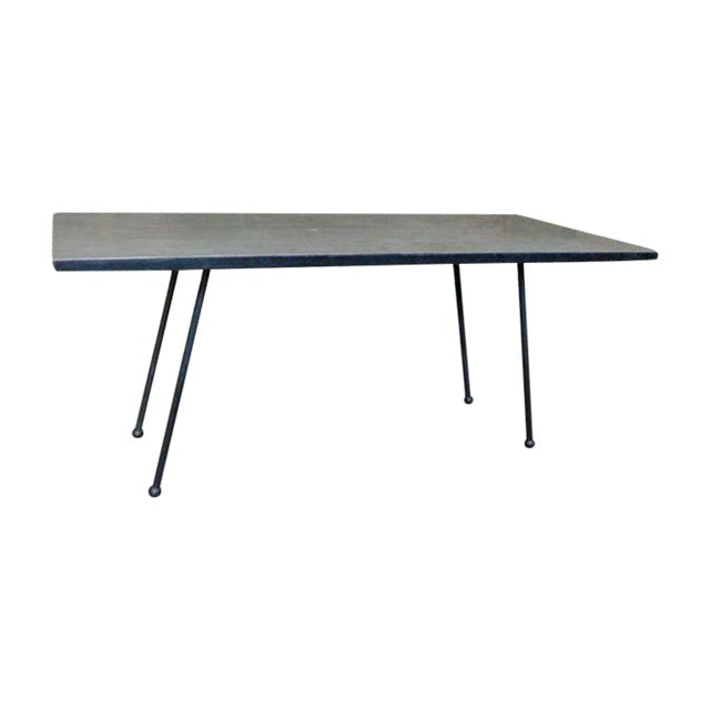 Mid-Century Modern Coffee Table With Formica Top