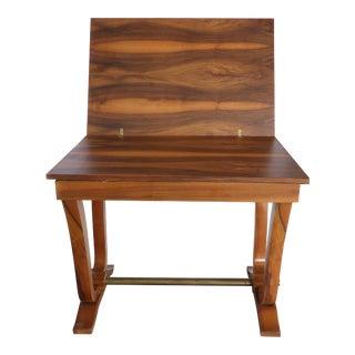 Art Deco Style Rosewood Veneer Expanding Table