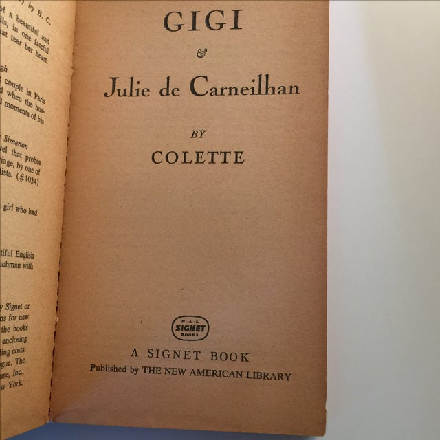 Image of Gigi and Julie De Carneilhan Colette 1954