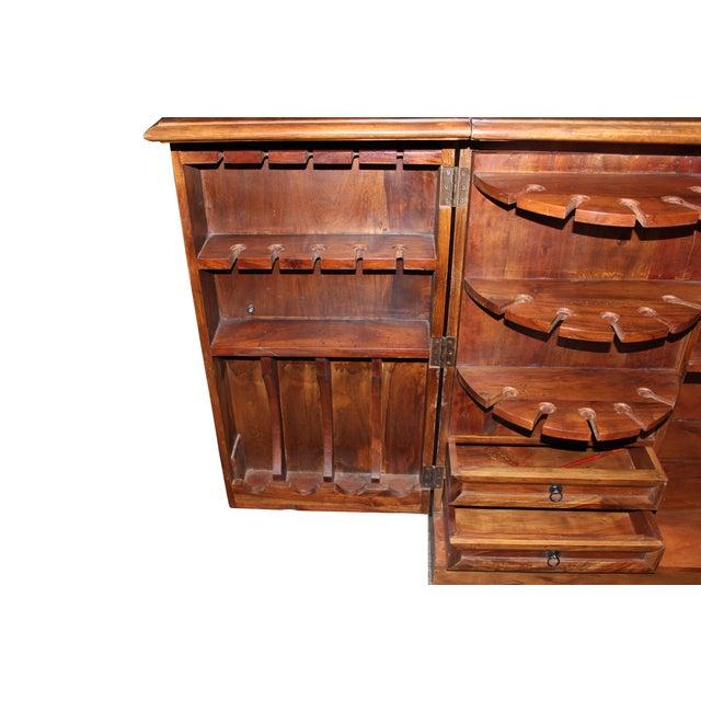 Mango Wood Bar Cabinet - Image 7 of 10