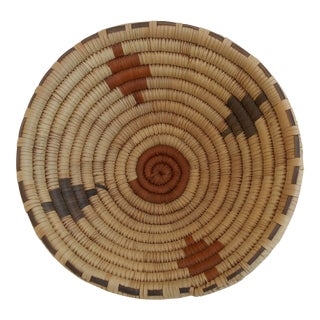 Tribal Coil Basket