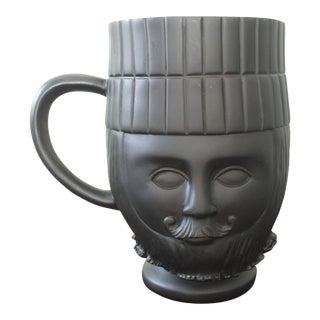 Black Matte Scandinavian King Vase