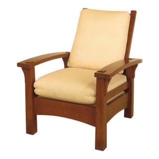 Stickley Gustav Design Mission Oak Morris Chair