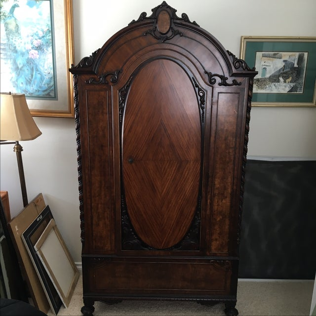 Early 20th-Century Armoire - Image 2 of 9