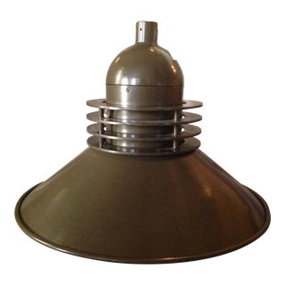 Industrial Dark Green Factory Lamp