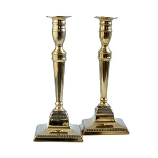 18th Century English Candlesticks - A Pair