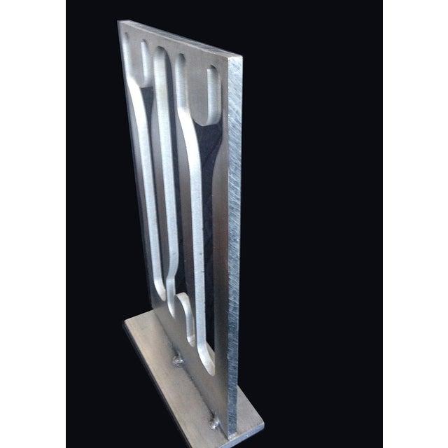 Image of Aluminum Industrial Sculpture