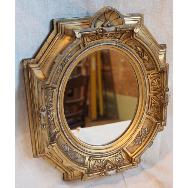 Antique Renaissance Revival Gilt Wood Mirror - Image 3 of 8