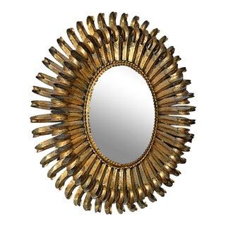 Vintage Gilded Spanish Mirror