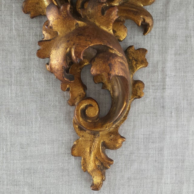 Italian Florentine Wall Sconces - A Pair - Image 5 of 9