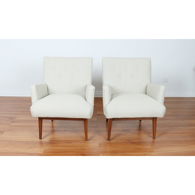 Jens Risom Lounge Chairs - Image 2 of 8