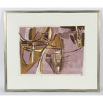 Image of Mid Century Abstract Lithograph