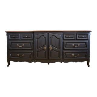 Century Modern Wooden Top Dresser