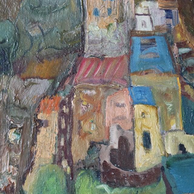 Image of Mid-Century Landscape by Mordechai Levanon 1954