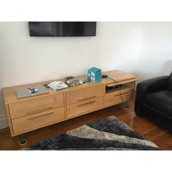 Room and Board Wooden Media Credenza - Image 3 of 3