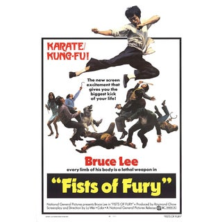 Fists of Fury 1973 Poster