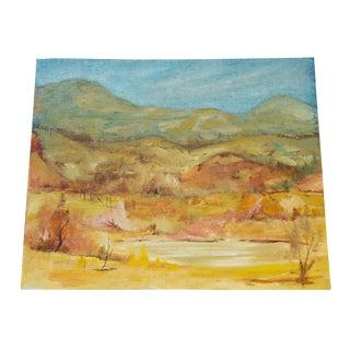 'Desert Calm' Contemporary Oil Painting