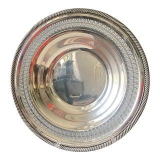 Vintage Silver Centerpiece Serving Bowl