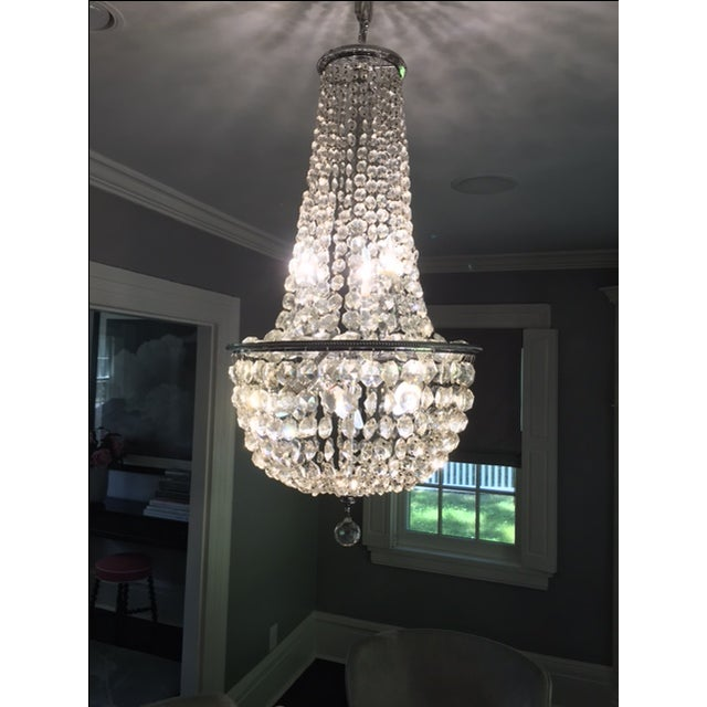 1900s Empire Crystal Chandelier - Image 2 of 11