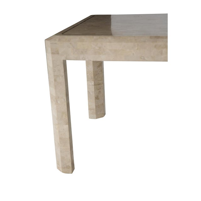 Maitland Smith Tessellated Side Table - Image 5 of 6