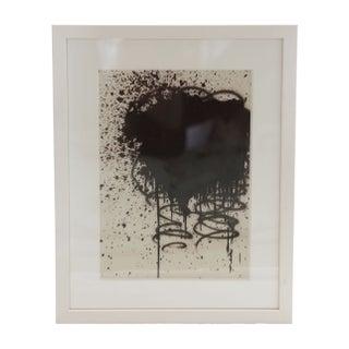 Black & White Framed Abstract Print