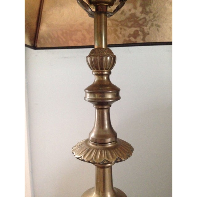 Image of Brass Trophy Lamps - A Pair