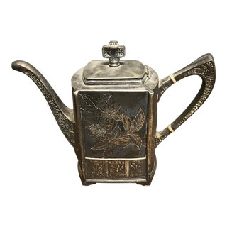 Pairpoint Silver Tea Pot