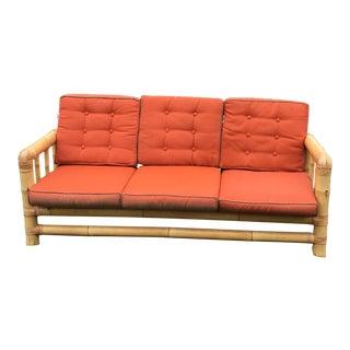 Mangku of Indonesia Mid-Century Bamboo Sofa