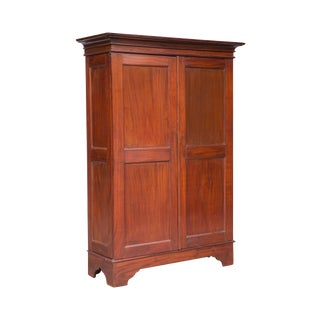 Antique Dutch Colonial Armoire From Ceylon