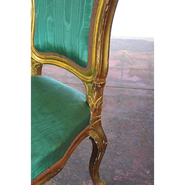 Louis XVI Style Giltwood Chairs - Set of 4 - Image 11 of 11