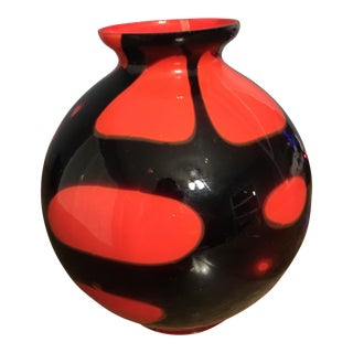 Kralik Bohemian Czech Art Glass Vase