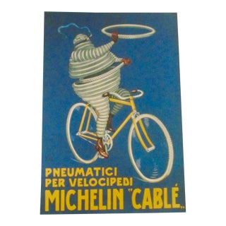Michelin Cable Italian Bicycle Print