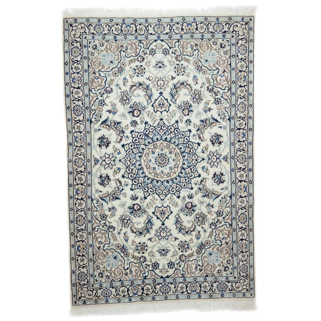 "Image of New Traditional Hand Knotted Area Rug - 3'10"" x 5'9"""