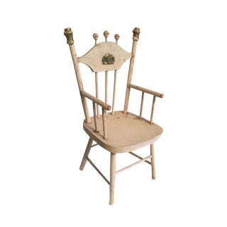 Late 1800s to Early 1900s French Provincial Style Doll Chair