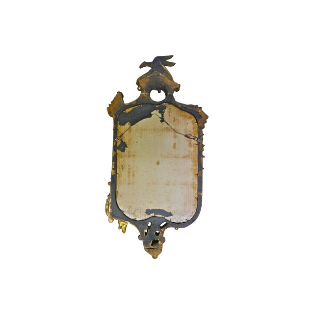 19th-Century Gilded Rococo-Style Mirror - Image 5 of 6