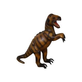 Handmade Paper Mache Big Dinosaur Figurine
