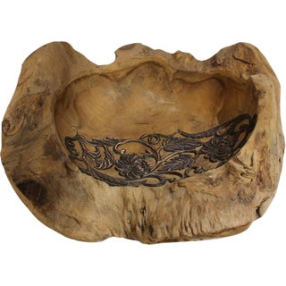 Decorative Teak Wood Bowl