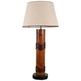 Vintage Wallpaper Roller Lamp