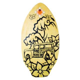 Tiki Woody Surf Skim Board