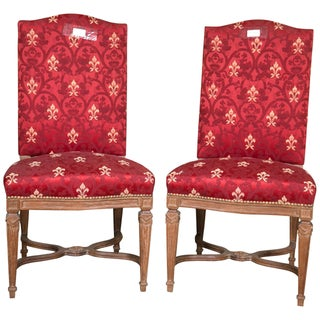 Maison Jansen Louis XVI Style Side Chairs - Pair