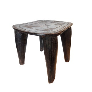Nigerian Nupe Low Chief Stool