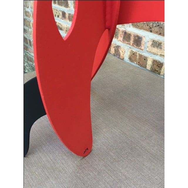 Vintage Calder Style Stabile Mobile Sculpture - Image 8 of 11