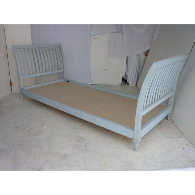 Grey-Blue Modern Daybed - Image 2 of 4