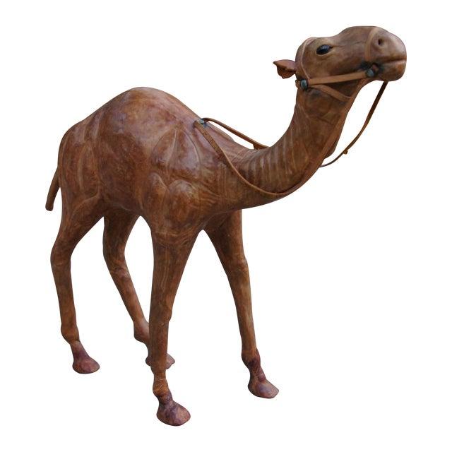 Image of Vintage Leather Standing Camel