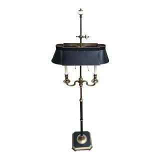 Tole Bouillotte Style Floor Lamp